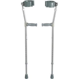 Drive Medical Lightweight Walking Forearm Crutches, Bariatric