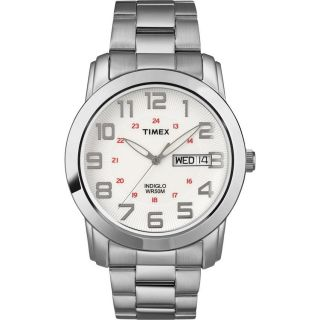 Timex Mens T78587 Classic Digital Dress Stainless Steel Expansion