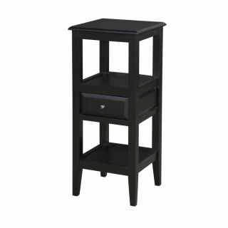 Powell Furniture 979 269 Sedona Pedestal Table in Antique Black