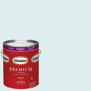 Glidden Premium 1 gal. #HDGB31U Blue Frost Eggshell Latex Interior Paint with Primer HDGB31UP 01E