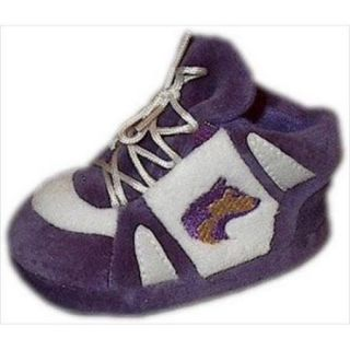 Comfy Feet CF WAS03PR Washington Huskies Baby Slippers