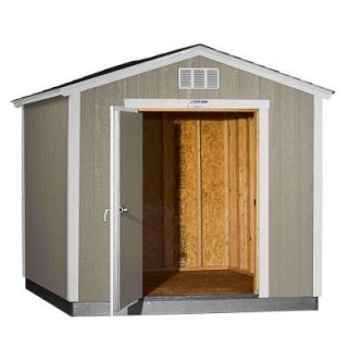 Tuff Shed Installed Tahoe 8 ft. x 10 ft. x 8 ft. 6 in. Painted Wood Storage Building Shed with Shingles and Endwall Door Tahoe 8x10 E