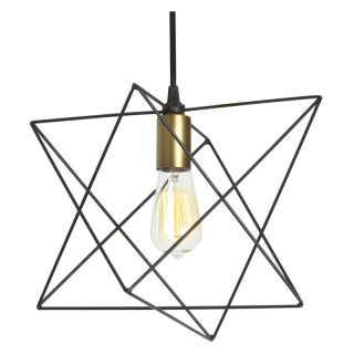Dainolite Industrial Chic CBE 131P BK Pendant Light   Pendant Lights