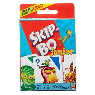 Mattel SKIP BO Junior Card Game   Toys & Games   Family & Board Games