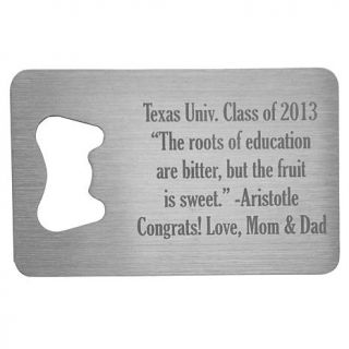 Personal Creations Personalized Secret Message Wallet Bottle Opener   8129010