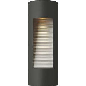 Hinkley 1660SK          Luna Satin Black  Outdoor Sconce Lighting